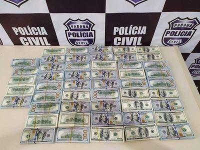 Detienen a paraguayas en Brasil con US$ 500 mil