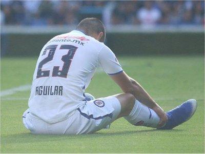 Pablo Aguilar sufre grave lesión