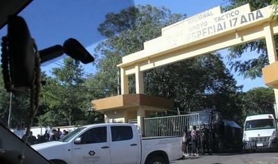 Cuevas pasará su primera noche en prisión en la Agrupación Especializada