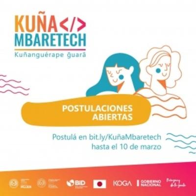 Hackathon Kuña Mbaretech será en marzo
