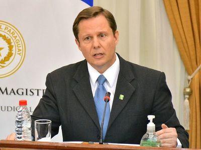 Nuevo presidente de la CSJ