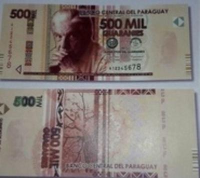¿Billetes de G. 500.000? BCP desmiente su circulación
