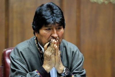 Corte electoral inhabilita candidatura de Morales al Senado