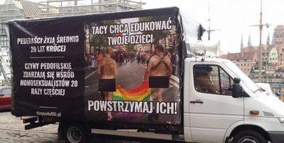 Justicia polaca avala campaña que compara homosexualidad con pedofilia