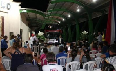 Oficialmente inauguraron Terminal de Ómnibus en Presidente Franco