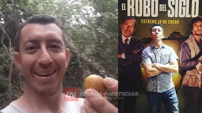 EL FAMOSO ARTISTA PARAGUAYO EN ARGENTINA VISITÓ SALITRE CUE