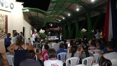 Inauguraron Terminal de Ómnibus en Presidente Franco