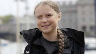 "HOY / Revista Time nombra ""Persona del año"" a Greta Thunberg"