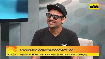 """Salamandra lanza nueva canción: """"Voy"""""""