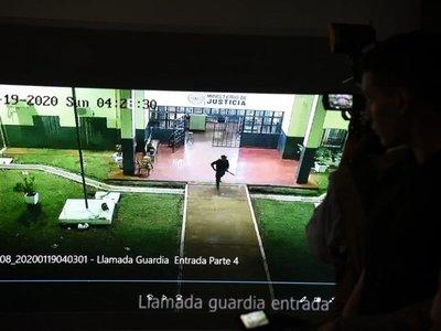 Fuga en PJC: Guardiacárceles vieron túnel y no avisaron, según Fiscalía