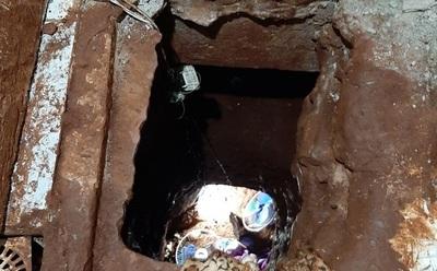 Presos del PCC se fugaron en 3 horas por el túnel