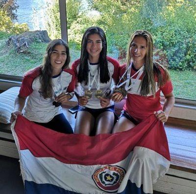 El remo femenino se posiciona en lo más alto en Copa América