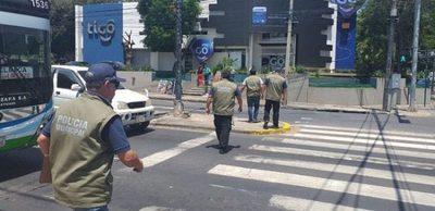 Inicia despeje de cuidacoches y limpiavidrios en Asunción