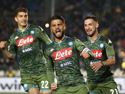 Importante victoria del Napoli