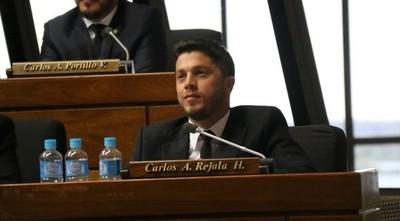 """Rejala impulsará proyecto de Ley para la """"no reelección parlamentaría"""""""