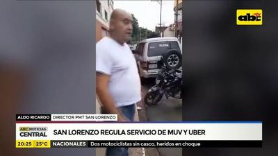 Municipalidad de San Lorenzo regula servicio de MUV y Uber