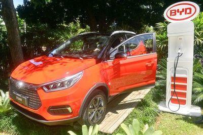 Yuan, la SUV 100% eléctrica de BYD