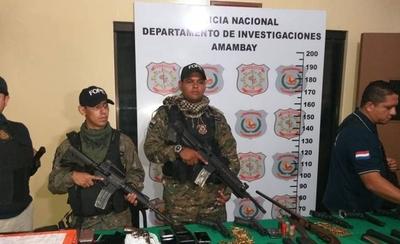 HOY / Pedro Juan: 10 detenidos, 19 casas allanadas y varias armas incautadas