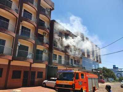 Se incendia un apartamento en el barrio San José