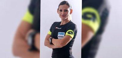¡Histórico! Árbitra paraguaya llamada por la Conmebol para un partido de copa