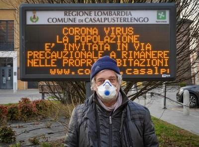 Italia eleva a un centenar los contagiados por el coronavirus en el norte del país