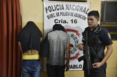 Detienen a asaltantes y recuperan parte de lo robado en Asunción