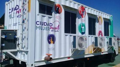 Ciudad Mujer Móvil hará cuatro paradas en Alto Paraná