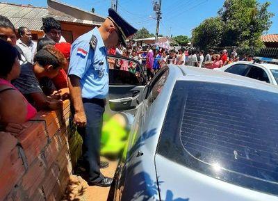 Tiroteo entre policías y sospechosos termina con un abatido