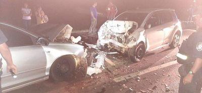 Choque frontal arroja seis heridos en Arroyos y Esteros