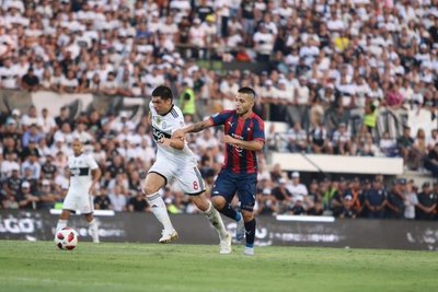 Olimpia y Cerro Porteño igualaron en el Superclásico