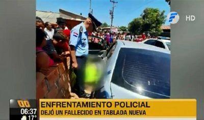Joven cae abatido tras enfrentamiento con agentes policiales en Tablada Nueva