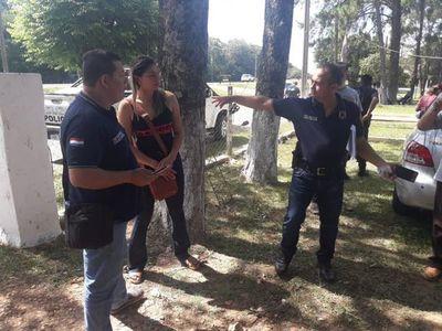 Imputarán a policía que habría agredido a esposa de su examante