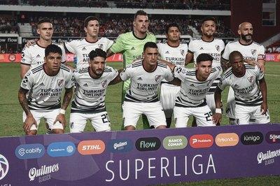 De la mano del 'Sicario', River gana y está cerca del título de la Superliga