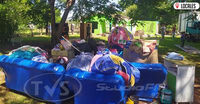 Desalojan a humildes Familias en San Juan del Paraná