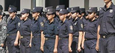 En el Día de la Mujer Paraguaya, 24 agentes femeninas inician el curso de operaciones tácticas para ser Linces