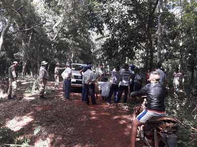 Itaipú denuncia invasión de reserva y tala ilegal de árboles en Puerto Indio