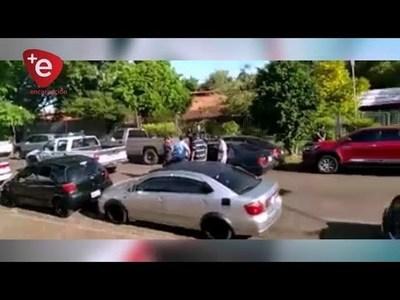 FUERZAS DE SEGURIDAD INTERVINIERON ANTE INCIDENTES EN JUEGOS DE CARNAVAL