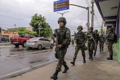 Casi 150 asesinatos en cinco días en un estado de Brasil bajo motín policial