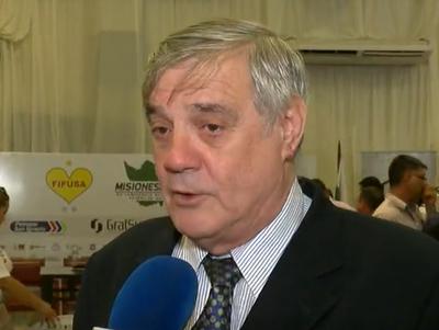 Rolando Alarcón destacó la transparencia en el sorteo