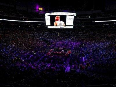 Miles despiden en emotivo tributo a Kobe Bryant y a su hija Gianna