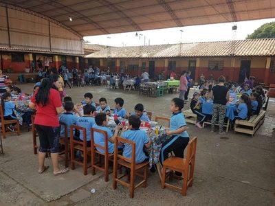 Fonacide: Almuerzo escolar solo para doce escuelas