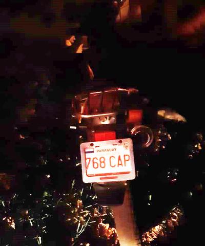 Encuentran motocicleta que habría sido utilizado por sicarios