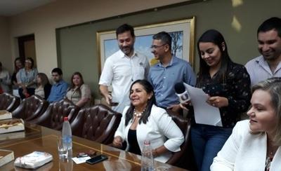 HOY / La Senadora Gorgia Arrua se refirió al proyecto de Fortalecimiento de Turismo que busca reducir los impuestos de los productos importados