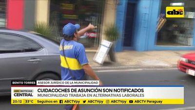 Cuidacoches de Asunción: Municipalidad de Asunción trabaja en alternativas laborales