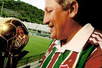 """""""Romerito"""", invitado de honor a la fiesta del Fluminense"""