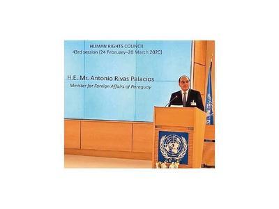 Paraguay presenta candidatura para el Consejo de DDHH de Naciones Unidas