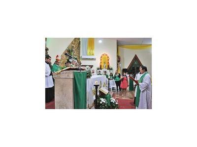 Obispo oficializó creación de Vicaría Episcopal de Ñeembucú