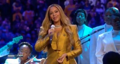 HOY / Beyoncé, JLo, Alicia Keys y Christina Aguilera rinden tributo a Kobe Bryant