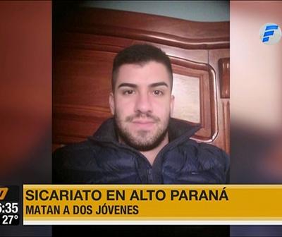 Sicarios mataron a dos jóvenes y dejaron varios heridos en cancha sintética