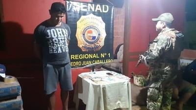 Detienen a traficantes de cocaína y crack en Zanja Pytá